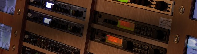 Effektgeräte und Signalprozessoren