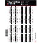Editortasten Keyboard Stickers