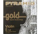 Gold Violin Strings 4/4 Pyramid