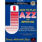 Jamey Aebersold Play Jazz Improvise Vol.1 E