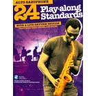 Hal Leonard 24 PlayAlong Standards AltoSax