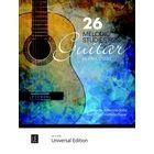 Universal Edition 26 Melodic Studies Guitar