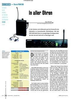 Test: Shure PSM 200