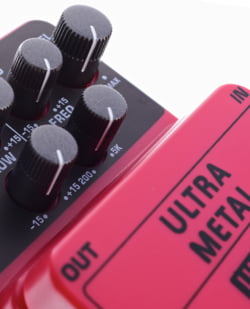 Distortion Effect Pedals