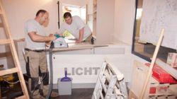 Large-scale shop renovation