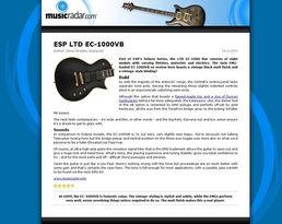 LTD EC-1000 Vintage Black