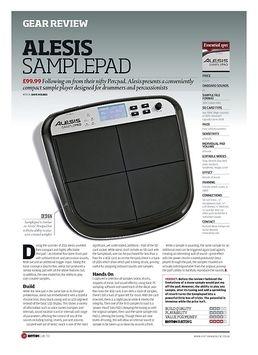 SamplePad Percussion Multi Pad