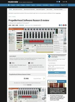 Propellerhead Reason 8