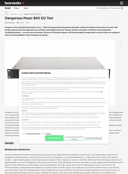 Dangerous Music BAX EQ