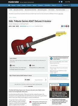 G&L ASAT Deluxe II