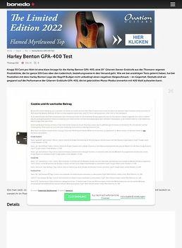 Harley Benton GPA-400