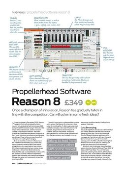 Propellerhead Software Reason 8