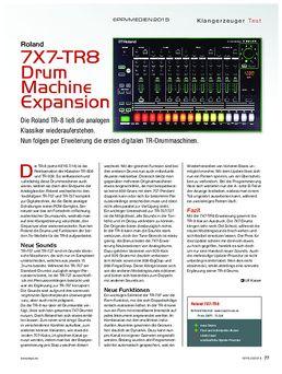 Roland 7X7-TR8 Drum Machine Expansion