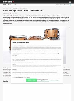 Vintage Series Three22 Natural