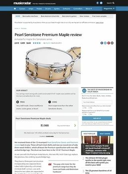 "14""x5"" Sensitone Premium Maple"