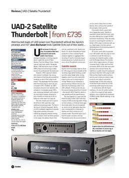 UAD-2 Satellite Thunderbolt