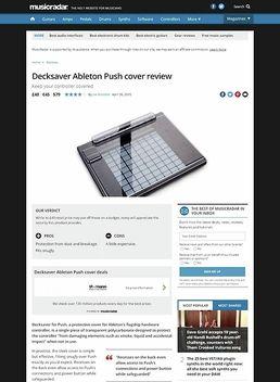 Decksaver Ableton Push Cover