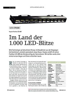 Flashbar LED 600