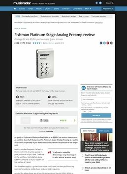 Platinum Stage Analog Preamp
