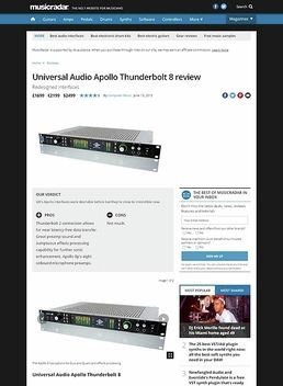 Universal Audio Apollo Thunderbolt 8