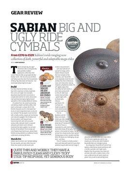 Sabian Big And Ugly Ride Cymbals