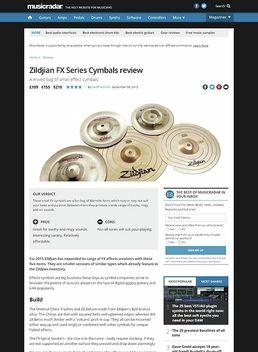 Zildjian FX Series Cymbals