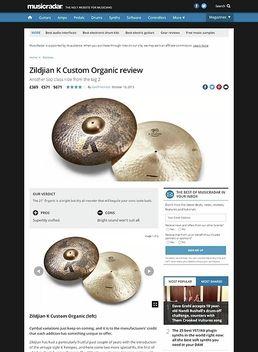 Zildjian K Custom Organic