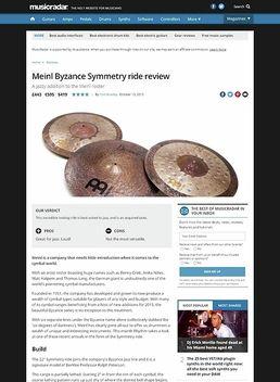 Meinl Byzance Symmetry ride