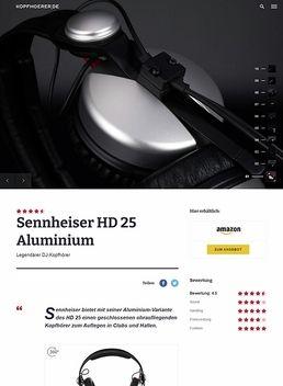 Sennheiser HD-25 Aluminium