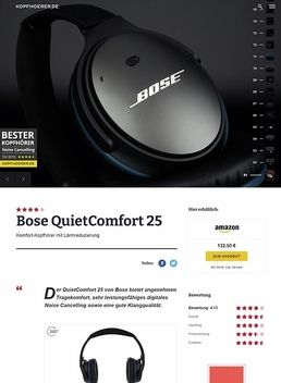 Bose Quiet Comfort 25 Black