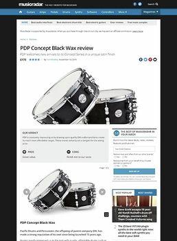 PDP Concept Black Wax
