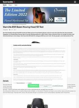 Stairville B5R Beam Moving Head