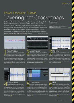 Cubase - Layering mit Groovemaps