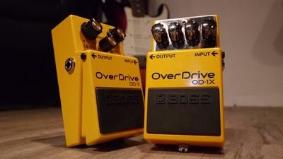 Boss OD-3 + OD-1X Overdrive
