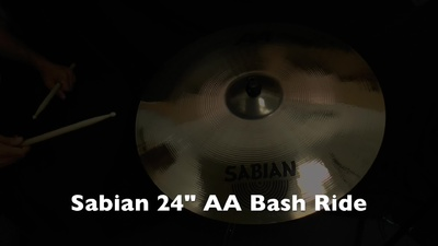 Sabian 24 AA Bash Ride