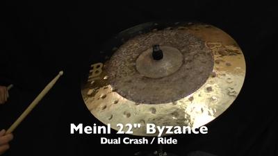 Meinl 22 Byzance Dual Crash/Ride