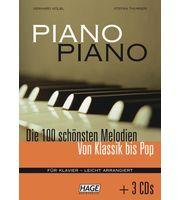 Libros de canciones para piano