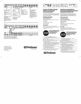 presonus audiobox 44vsl manual pdf