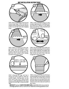 Nut Installation Instructions