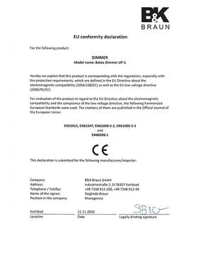 CE-Certification
