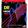 DR Strings HiDef Red Neon Medium 10-46