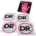DR Strings HiDef Red Neon Medium 4 45-105