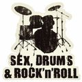 Bandshop Sticker Sex, Drums & Rock