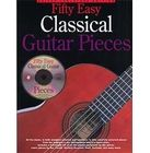 Music Sales 50 Easy Classical Guitar Piece