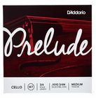 Daddario J1010-3/4M Prelude Cello 3/4