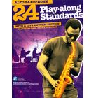 Wise Publications 24 Play-Along Standards A-Sax
