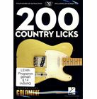 Hal Leonard 200 Country Licks-Guitar Licks