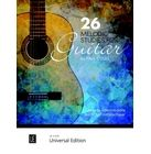 Universal Edition 26 Melodic Studies Guitar