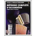 Editions Henry Lemoine Méthode Complète d'Accordéon
