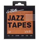 La Bella 800L Jazz Black Nylon L